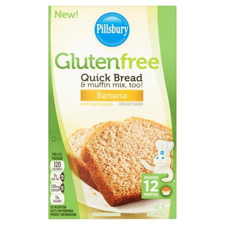 Pillsbury Gluten Free Banana Quick Bread   Muffin Mix  14 Oz