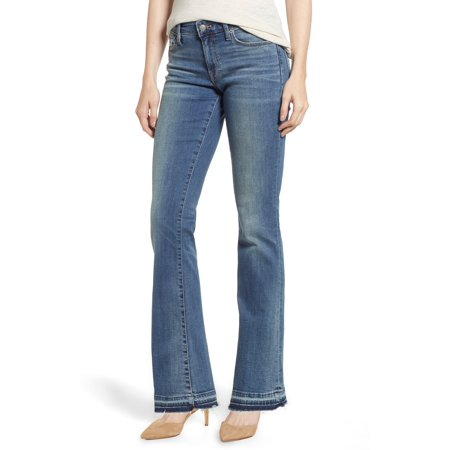 LUCKY BRAND Womens Blue Mid Rise Boot Cut Jeans  Size: 6