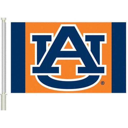 NCAA - Auburn Tigers 11x18 Double Sided Car Flag - Set of 2