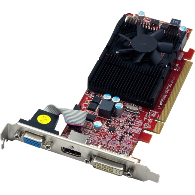 VisionTek 900252 Radeon HD 4650 1 GB 128-bit GDDR2 PCI Express 2.0 Graphics card.
