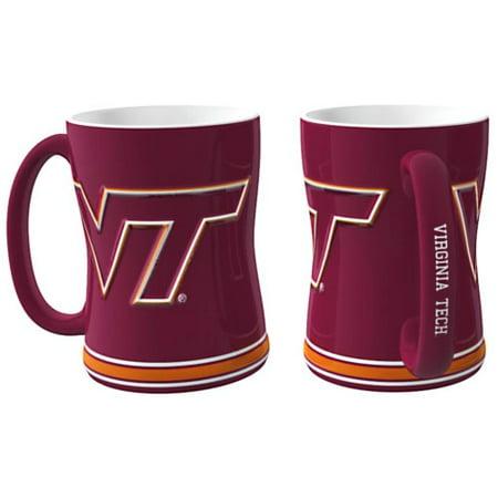 Virginia Tech Hokies Coffee Mug - 15oz Sculpted - image 1 de 1