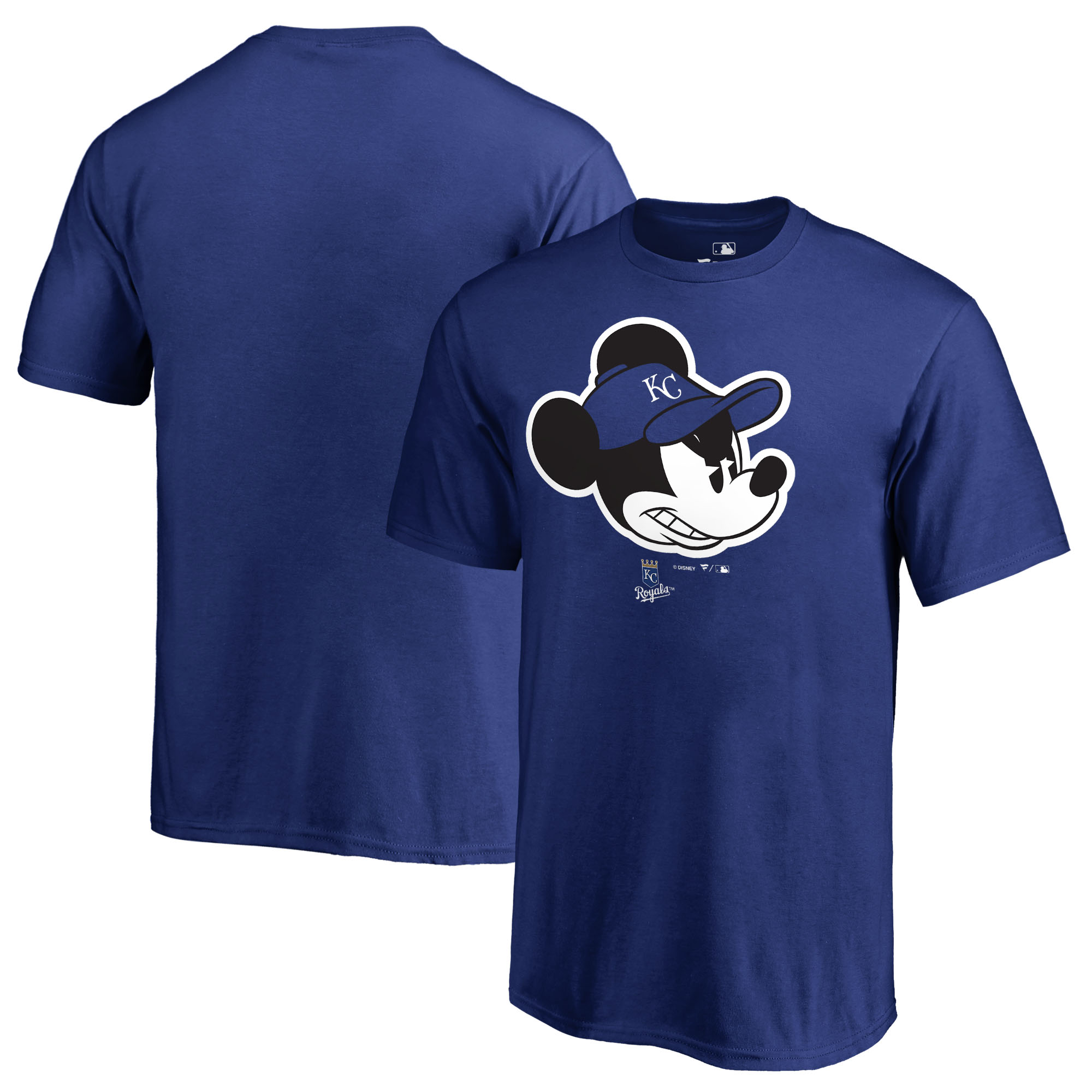 Kansas City Royals Fanatics Branded Youth Disney Game Face T-Shirt - Royal