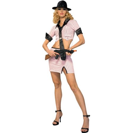 Women's Deluxe  Bugsy's Babe Gangster Girl Costume