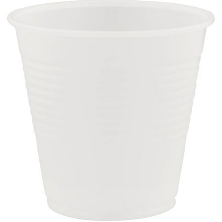 Dart Conex Translucent 5 Oz Plastic Cold Cups, (Pack of 2500)
