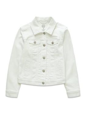 Wonder Nation Girls 4-18 & Plus Denim Jacket