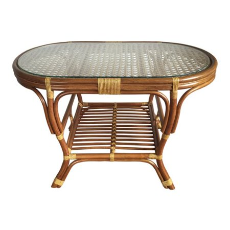 Rattan Wicker Home Furniture Alisa Coffee Table With Magazine Rack
