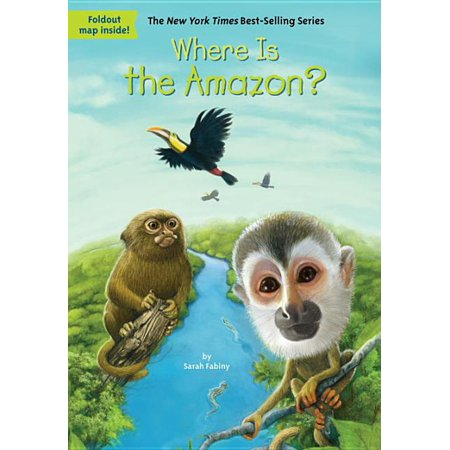 Where Is?: Where Is the Amazon? (Paperback)
