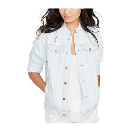 Rachel Roy Womens Destroyed Jacket superltwash L - image 1 de 1