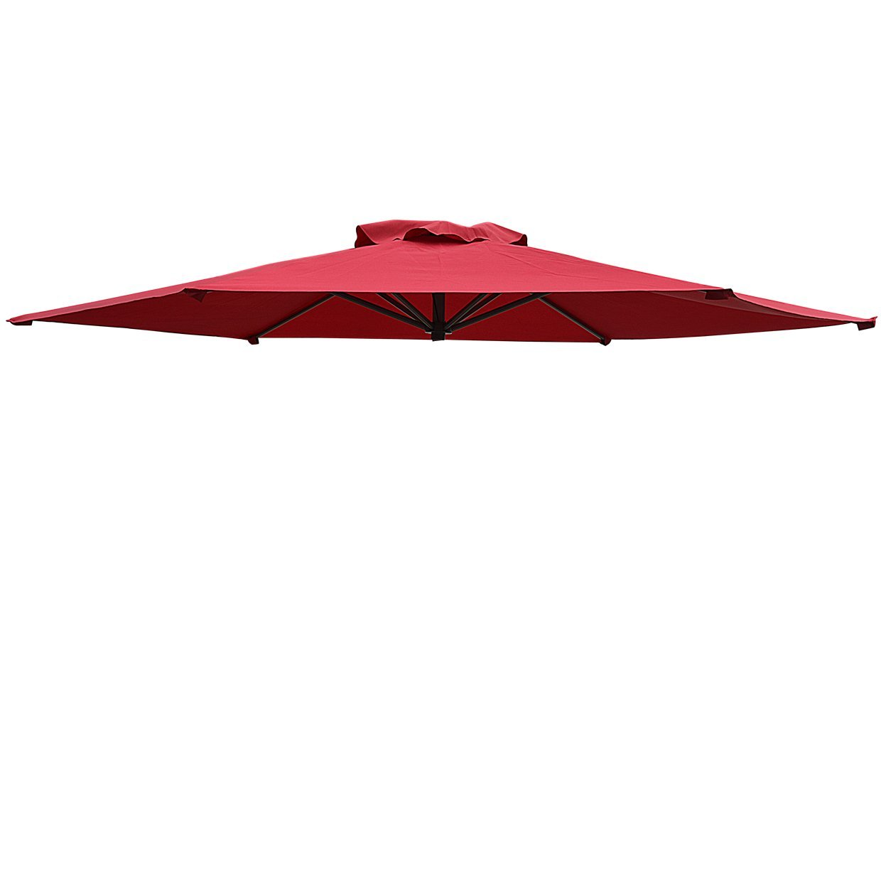 Strong Camel Replacement Patio Umbrella Canopy Cover For 8.2ft 6 Ribs  Umbrella Taupe (CANOPY