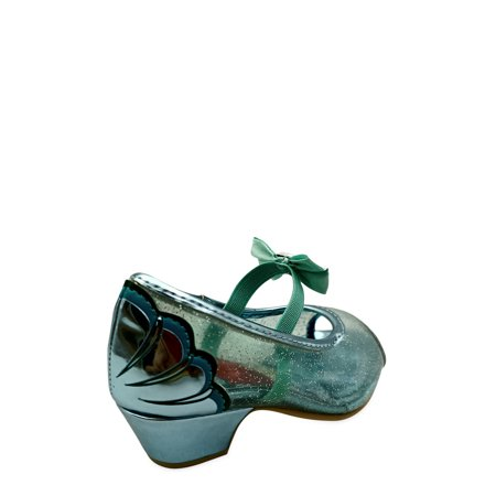 Disney Little Mermaid Glitter Dress Pump (Toddler Girls)