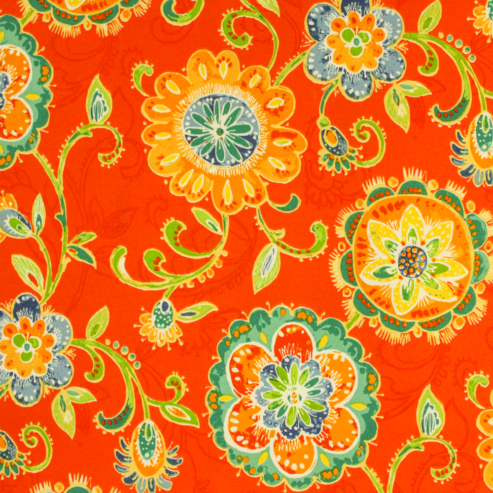 """Berkshire Home Polyester 54"""" Indoor/Outdoor Fanfare Carnival Fabric, per Yard"""