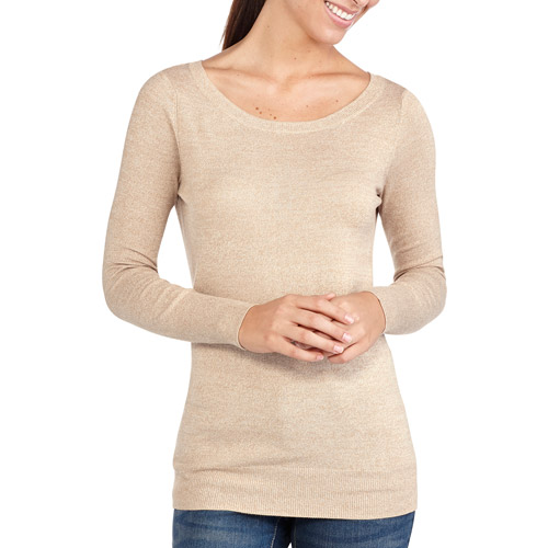 Faded Glory Women's Pullover Crew Neck Sweater