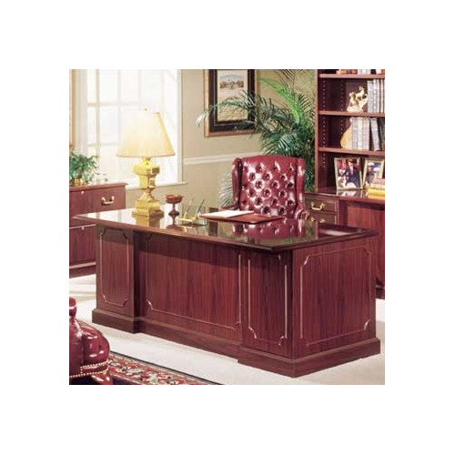 High Point Furniture Bedford Single Pedestal Executive Desk