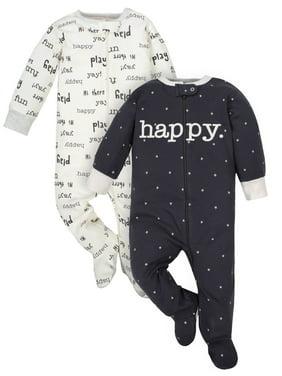 a39b6edcf61c Product Image Zip-up Sleep N Play Pajamas, 2pk (Baby Boys or Baby Girls,