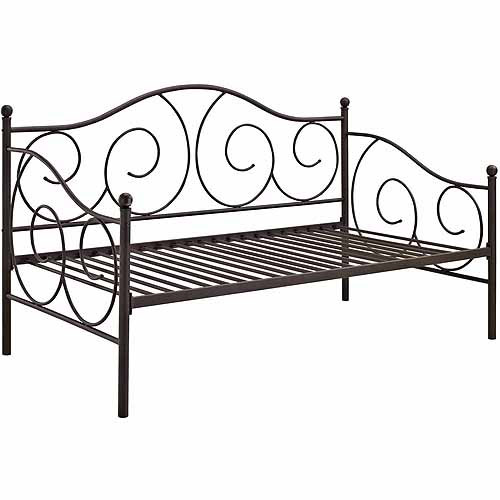 victoria metal daybed, twin, multiple colors - walmart