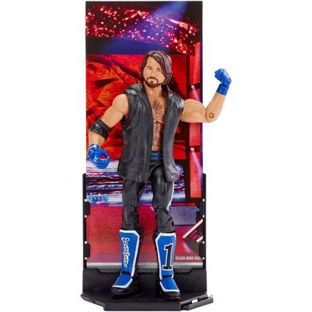 WWE?  Elite Collection Aj Styles? Action Figure (Magnifico Hir Aj Kam Hir Aj Go)