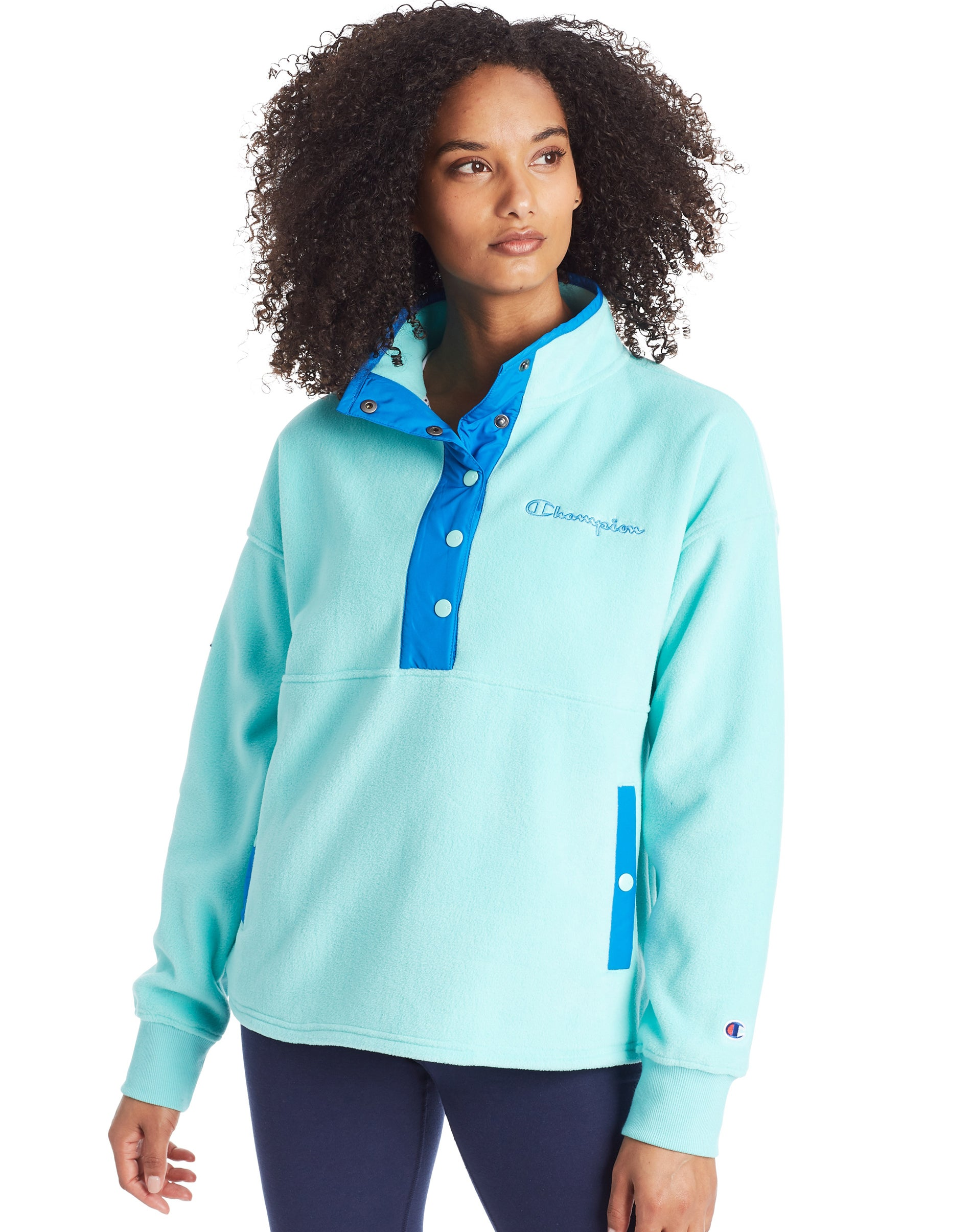 Champion Womens Snap Front