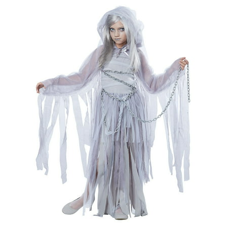 Girls Haunted Beauty Ghost Halloween Costume