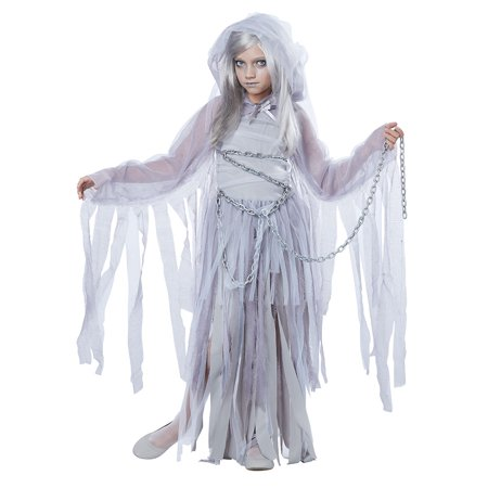 Girls Haunted Beauty Ghost Halloween Costume - Ghost Costume For Girl