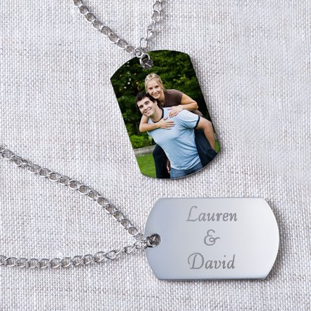 Personalized photo pendant dog tag style walmart personalized photo pendant dog tag style negle Choice Image
