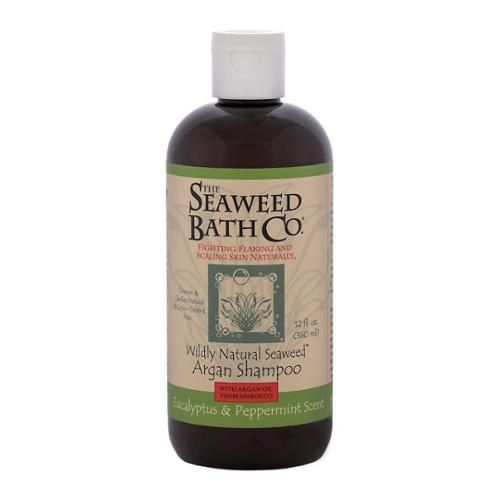 Wildly Natural Seaweed Argan Shampoo Eucalyptus & Peppermint The Seaweed Bath Co