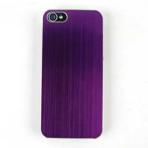Unlimited Cellular Hybrid Novelty Case for Apple iPhone 5 / 5S (Purple One-Piece)