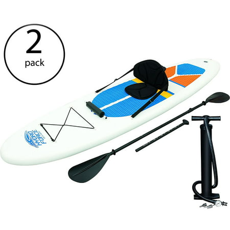 Bestway Hydro-Force White Cap Inflatable SUP Stand Up Paddle Board (2 (Best Way To Pack Boxes)