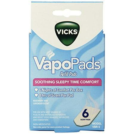 Waterless Scent Pads - Vicks Sleepytime Waterless Vaporizer Scent Pads
