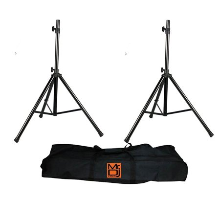 Mr. Dj SS650PKG Tripod Speaker Stand Package with Bag