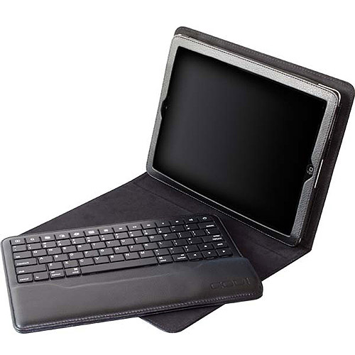 Codi Bluetooth Keyboard Case for Apple iPad 2/3 - Faux Leather, MicroFiber, Nylon