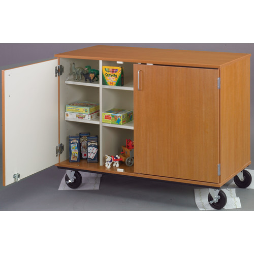 Stevens ID Systems Mobiles Divided Shelf Storage