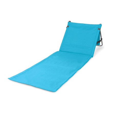 Picnic Time Beachcomber Mat Folding Beach Chair