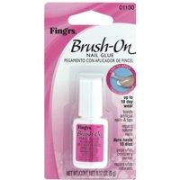 Fing'rs Brush-On Nail Glue 0.17 oz