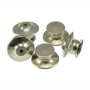 50 Silver Locking Pin Backs Tie Tacks Great for Keeping Your Pins Safe No Tools Required