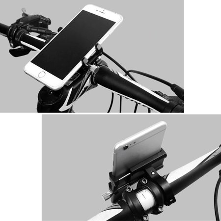 Outtop Bicycle Bike Phone Mount Bracket Holder Clip Handlebar Phone (Best Clip On Handlebars)