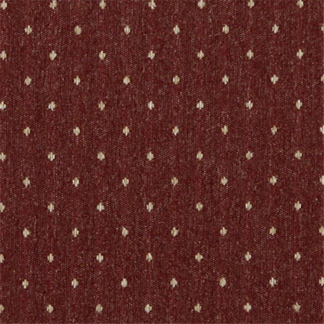 Designer Fabrics C616 54 In Wide Rustic Red And Beige 44 Dotted