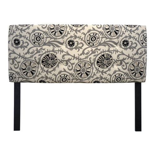 Sole Designs Suzani Vine Upholstered Headboard