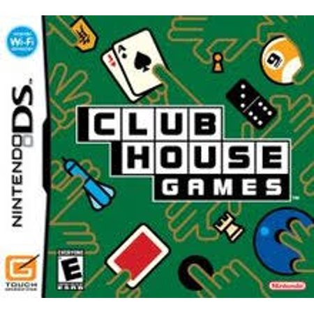 Clubhouse Games - Nindendo Ds (Refurbished) CO Cartridge Only ()