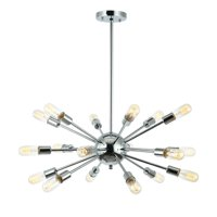Light Society Sputnik Style Chandelier