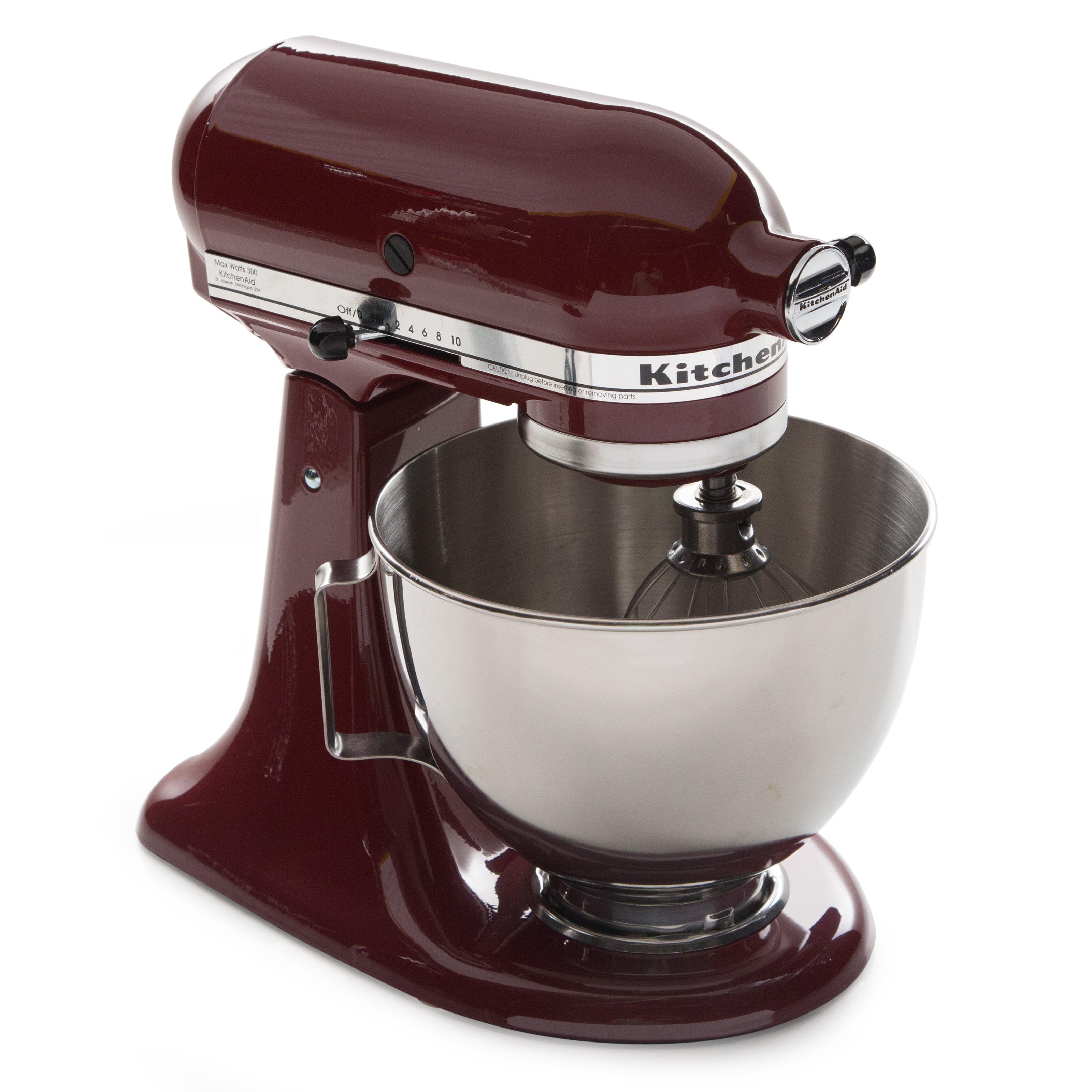 Kitchenaid Kitc161 1 4 5 Qt Tilt Head Stand Mixer Gloss Cinnamon