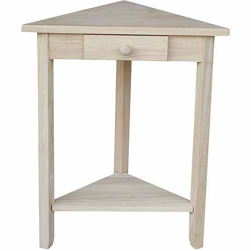 International Concepts Ot-95 Corner Accent Table, Ready To Finish by International Concepts