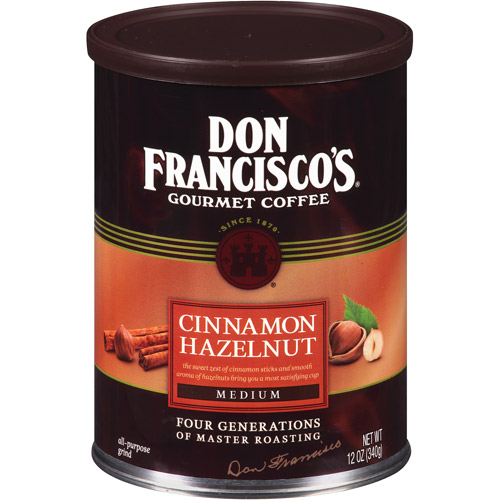 Don Francisco's Cinnamon Hazelnut Medium Gourmet Coffee, 12 oz by Generic