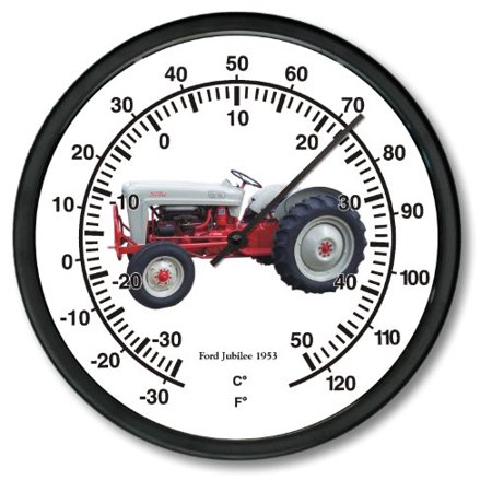 New 1953 Vintage Ford Farm Tractor Jubilee Wall Thermometer 10