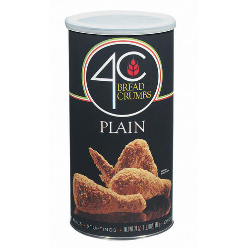 4C Plain Bread Crumbs, 24 oz