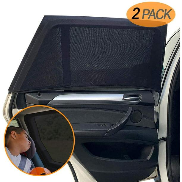 Solar Max Baby Child Toddler Car Sun Shade Blind Roll Up Car Window Blinds