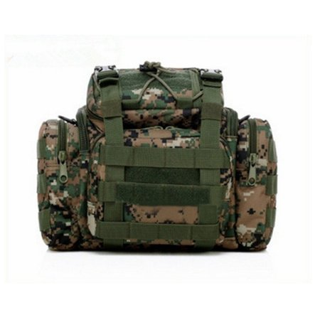 "11.5""x9""x5"" Fishing Tackle Bag Large Storage Waist Shoulder Pack Waterproof Tactical Waist Pouch Haversack thumbnail"