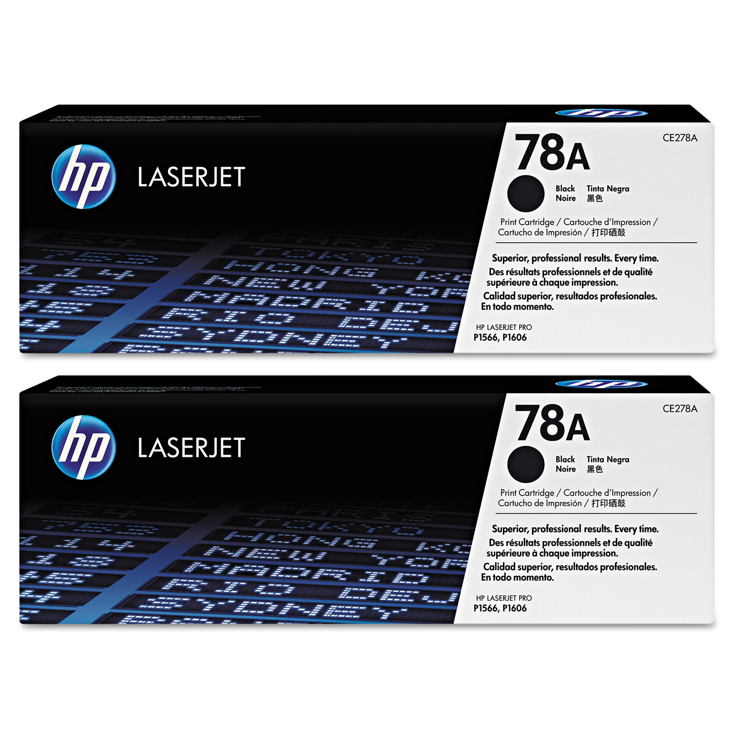 Buy two HP78A Black Toner and get $25 off
