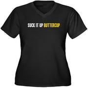 Women's Plus-Size Buttercup Graphic T-shirt