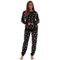 #followme Womens Jogger Pajama Pants Set Ultra-Soft Velour PJs