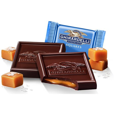 Ghirardelli Bulk Dark Chocolate Sea Salt Caramel (3 pound)